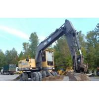 Alquiler de excavadora Volvo EW200