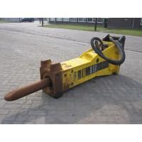 Martillos Atlas Copco MB1200 Excavadora